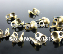 200Pcs gold/silver/black Connectors Clasps fitting 1.5mm Ball Chain Jewelry Accessories F920C