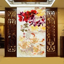 Diy 5d Diamond Painting Cross Stitch peony flower Diamond Embroidery Flowers Crystal square Diamond Mosaic Pictures Needlework