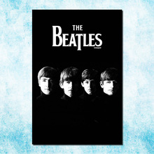 The Beatles Super Rock Band Art Silk Canvas Poster Print 13x20 24x36 inch Music Pictures Bedroom Decor (more)-002(China)