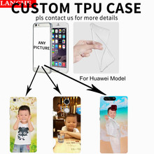2017 Unique Personalized DIY Customized Phone Case For Huawei P8 P9 Lite Plus  Mate 7 8 9 G7 G8 Honor 5C 5A 6X Print TPU Pattern