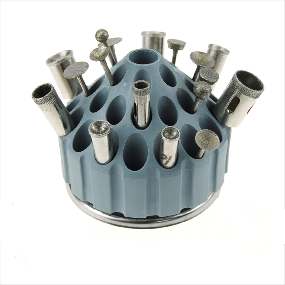 35 holes Aircraft finishing tool  arrangement  box for carving grinding tool grinding beads nest opening device storage box<br>