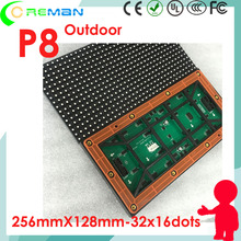 Cheapest slim led video wall outdoor p8 module , mobile truck vehicle led display panel die cast cabinet module led p4 p5 p6 p8(China)