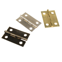 25PCS 24*16mm Furniture Hinge with Screws Cabinet Drawer Door Butt Hinges Decorative Hinges for Jewelry Box