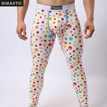 Buy Brand New Winter Warm Men Long Johns Cotton Printed Thermal Underwear Men Thermo Long Johns Underpants legging masculina for $10.39 in AliExpress store