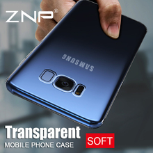 ZNP Transparent TPU Soft Silicone Case For Samsung Galaxy S7 S6 Edge S8 Plus Case Cover For Samsung S8 S8 Plus Phone Bag Case