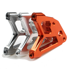 Motorcycle front shock absorber adapter for 220/220mm disc Motorcycle front shock transfer code Scooter front caliper bracket(China)