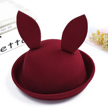 New Baby Bucket Hats Fedora Kids Hat Rabbit Ears Character Summer Hat Children Sun Caps Boys Girls Photography Props(China)