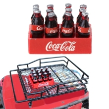 RC Crawler 1:10 Mini Coke Bottle & Tray Model Toys for Tamiya CC01 Axial SCX10(China)