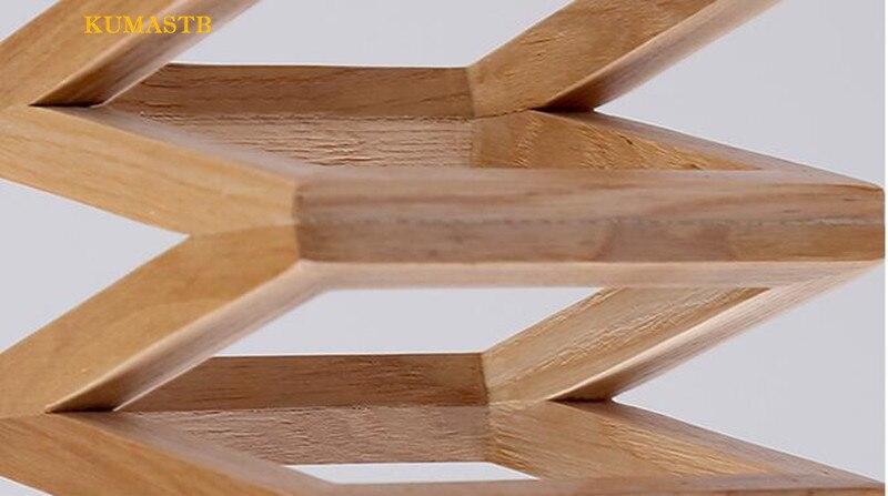 Wood Spring Pendant Lamp 14