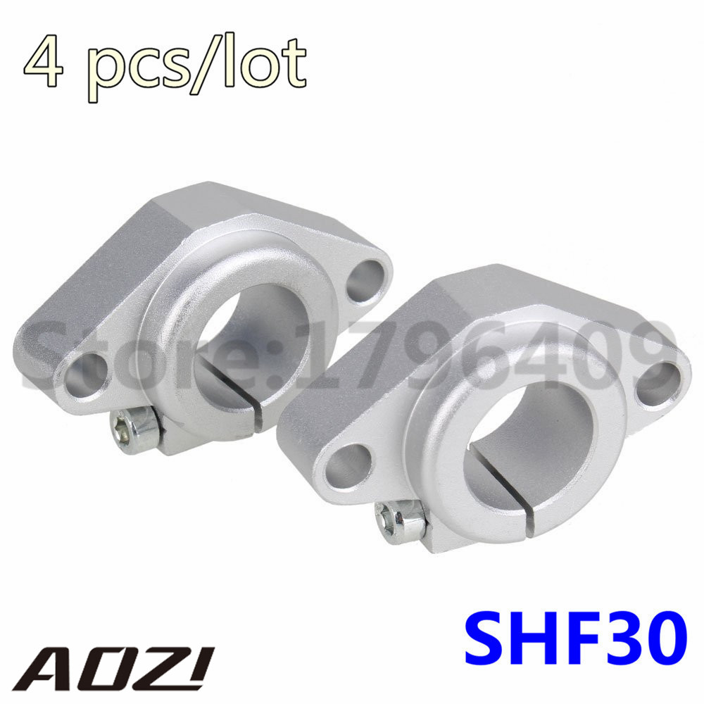 4pcs/lot SHF30 For OD30MM Linear Axis Support CNC Part Free Shipping Rod Holder<br><br>Aliexpress