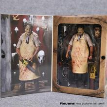 "NECA The Texas Chainsaw MASSACRE PVC Action Figure Collectible Model Toy 7"" 18cm(China)"