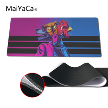 MaiYaCa Hotline Miami Mouse Pad pad to Mouse Notbook Computer Mousepad Overlock Edge Big Gaming Padmouse Gamer to Laptop Mouse(China)
