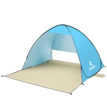 2-3 Person Portable Automatic Outdoor Tents Anti UV Shelter Instant Pop-up Beach Tent Camping Tent Fishing Hiking Picnic