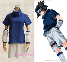 Hot Japan Anime Halloween Party Outfit Naruto Cosplay Uchiha Sasuke Costumes