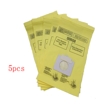 5 pcs/lot Vacuum Cleaner Parts type c paper dust bags cleaning bags Replacement for Kenmore 50558 5055 50557 Vacuum cleaner bag