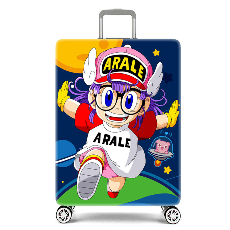 Elastic cartoon suitcase dust cover Travel case cover for 19