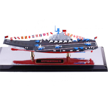 1:1000 Chinese Aircraft Carrier Liaoning 1/1000 Alloy Diecast Static Sea Military Model boat collection baby toys