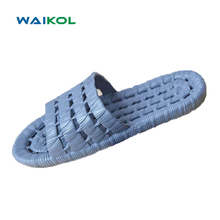 Waikol Hot Beach Shoes Casual Men Sandals Slippers Summer Outdoor Flip Flops Flats Non-slip Bathroom Home Massage Slippers(China)