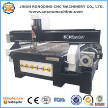 1325 Hot sale 3d cnc wood carving machine/ cnc router rotary 4th axis cnc router