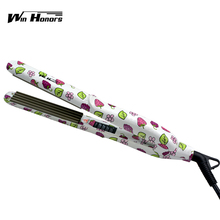 Best Quality Electric Wave Hair Straightener Straightening Corrugated Iron Hair Crimper Corn Plate Styling Tools(China)
