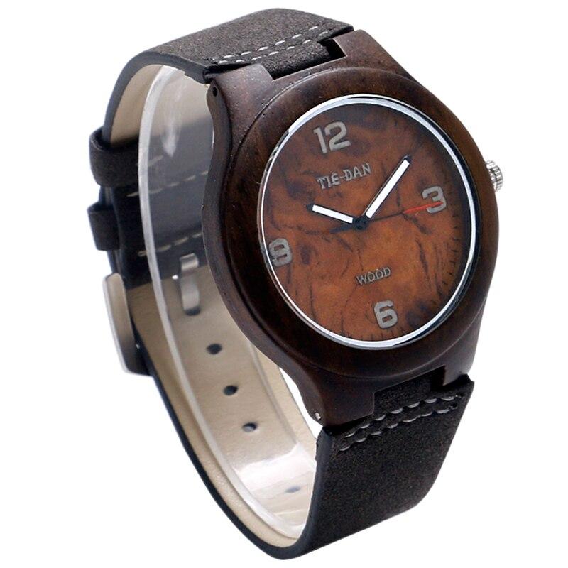 Creative Bamboo Wrist Watch Wood Men Sport Watches Wo #