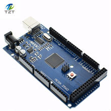 1PCS Mega2560 R3 Mega2560 REV3 (ATmega2560-16AU CH340G) Board NO USB Cable compatible  [NO USB line]