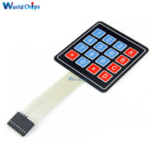 5Pcs 4 x 4 Matrix Array 16 Key Membrane Switch Keypad Keyboard For Arduino AVR PI C(China)