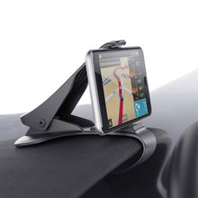 JEREFISH universal car dashboard holder stand 360 Rotating clip smartphone car holder mobile phone accessories cell phone stand(China)
