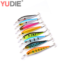 1Pcs Beginner Diving Minnow Lure 10cm 9.5g Easy Use For Attract Sea Carp Fly Fishing Bait Tool Wobblers Swim Artificial Fish(China)