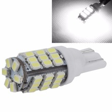 Free Shipping 1 PC T10 LED 42 SMD 3020 W5W White Car Side Wedge Auto DC 12V T10 Car Led Light Lamp Car parking xenon car styling