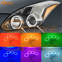 For Nissan Altima Coupe 2010 2011 2012 2013 Excellent Angel Eyes Multi-Color Ultra bright RGB LED Angel Eyes kit Halo Rings(China)