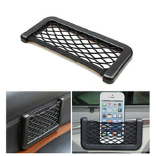 Car Styling 2017 New Brand 1pcs Car Storage Net Automotive Pocket Organizer Bag For Geely Vision SC7 MK CK Cross Gleagle SC7