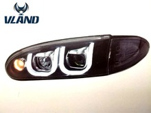 Vland auto car styling Car accessories LED Headlight for WIRA 1992 RHD LHD headlight right hand drivingheadlamp