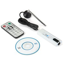 Original USB2.0 DVB-T2 DVB-T DVB-C FM DAB TV Tuner HDTV Stick Receiver Built-in Antenna with Remote Controller for PC Computer
