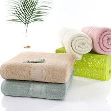 140x70cm/420g Green Bamboo Fiber Antibacterial Mite Removing Bath Towel Sports Fast Drying Cloth towels Eco-Friendly No Pilling