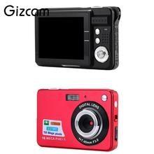 "Gizcam 2.7"" TFT LCD Display Digital Cameras 18MP 720P Anti-Shake Camcorder Video CMOS Sensor Micro Camera Mini Cam US plug(China)"