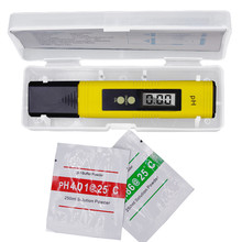 100pcs by dhl fedex Pen 0.01 LCD Acid aquarium Water Quality salt pool tester pH Meter Acidometer Analyzer with retail box