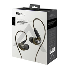Professional! MEE Audio Pinnacle P1 Earphone High Fidelity Perfect Sound In Ear Earphones Monitor Headset With Detachable Cables(China)