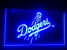 b-131 Los Angeles Dodgers Baseball beer bar pub club 3d signs LED Neon Light Sign home decor shop crafts