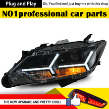 DXDX Car Styling for Camry V55 Headlights 2015 New Camry LED Headlight DRL Bi Xenon Lens High Low Beam Parking Fog Lamp