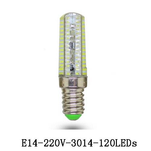 1x E14 LED Lamp Silicone 3W/5W/7W/9W/10W/12W/15W Crystal Kitchen Fridge Tube Refrigerator Light Indicator Desk Reading Corn Bulb<br><br>Aliexpress