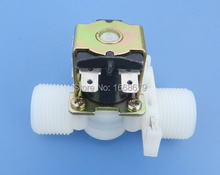 EBOWAN DN20 3/4'' Electric Water Valve 12v Solenoid PP Normally Closed Type Plastic for Garden irrigation(China)