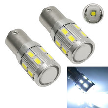 1156BA15S P21W 5630 12SMD LED Lens Lamp Car Light Source AUTO Turn Signal Light Backup Tail Reverse Light Bulb High Quality
