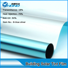 Best quality reflective window tint film 5ftx100ft  Building window Solar mirror film with best supply size 1.52x30m
