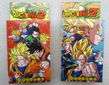 10pcs/lot Dragon Ball Toys Poker Dragonball Doll Game cards Dragonball Z Moldel