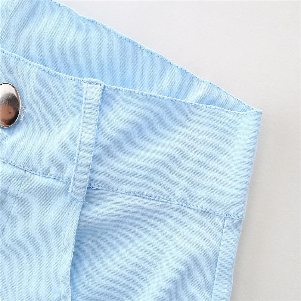 1-7Y En Bas Âge Enfant Bébé Fille Vêtements Coton À Manches Longues O-cou T-shirt Tops Floral Denim Jeans Pantalon 2 pcs Ensemble Bébé vêtements Outfit 7