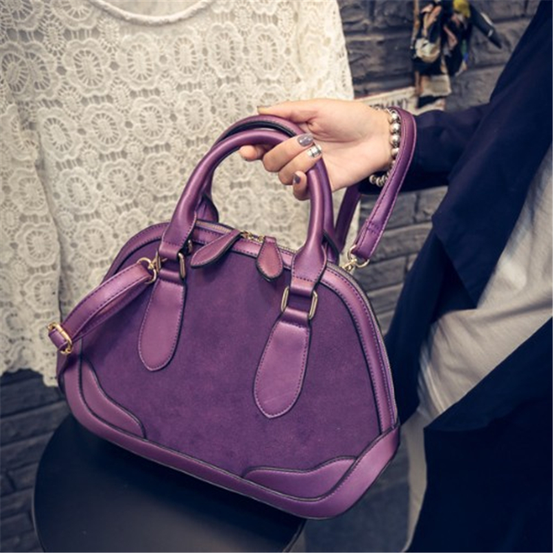 Women Messenger Bags Fashion Simple All-Match Crossbody Bag Womens Scrub Leather Bags Shoulder Shell Bag For Women Ladies Tote<br><br>Aliexpress