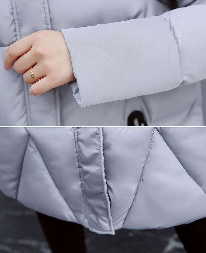 2017 Winter Women Coat Thicken Warm Long Jacket women coat girls long slim big coat jacket Down Parka+4