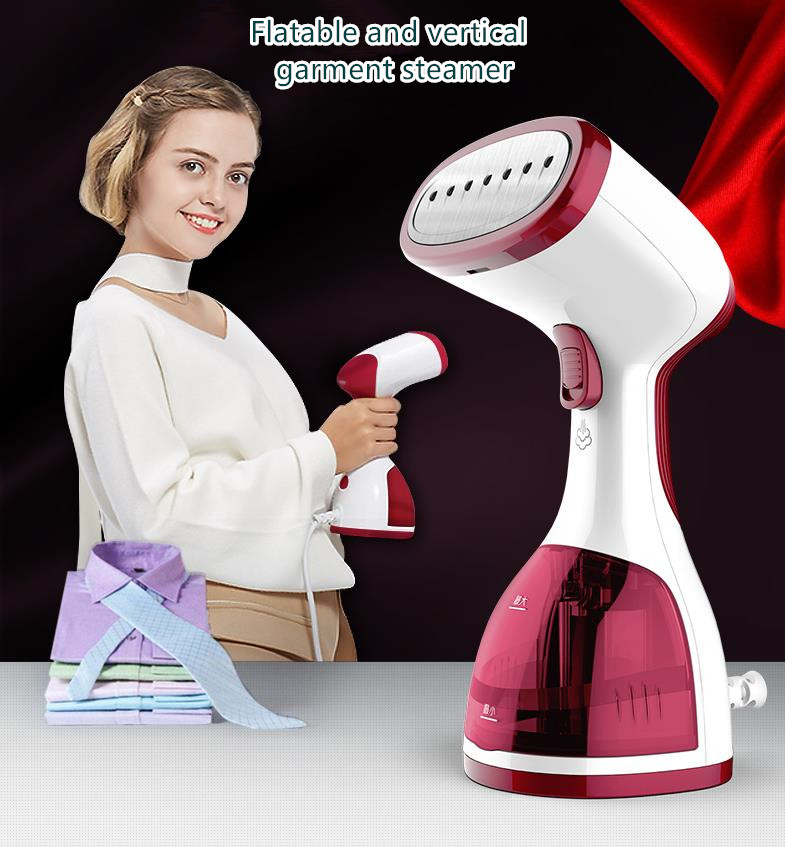 Mini Vertical Clothes Steamer Iron for Home Travel Garment Steamers for Clothes Laundry Portable Steam Ironing<br>