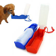250ml Hot Outdoor Portable Pet Dog Feeding Bottles Watering Storage for Outdoor Traveling Pet Supplies(China)